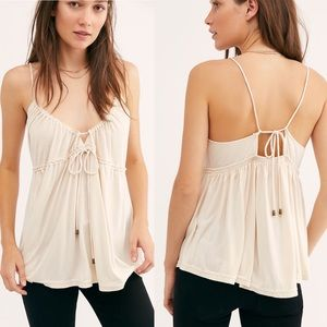 Free People Sundrop Tank Large NWT!